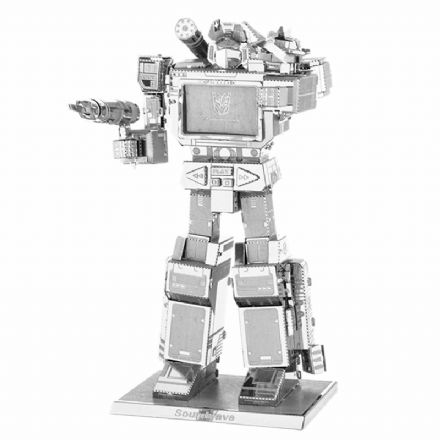 Transformers Metal Earth Soundwave Model Kit